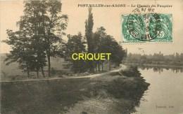 Cpa 21 Pontailler, Le Chemin Du Pasquier, Carte Pas Courante - France