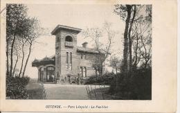 Oostende-Ostende- Parc Léopold: Le Pavillon. - Oostende