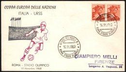 FOOTBALL - ITALIA ROMA STADIO OLIMPICO 1963 - COPPA EUROPA DELLE NAZIONI - ITALIA Vs. URSS - Fußball-Europameisterschaft (UEFA)