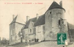 58 ENVIRONS DE COSNE - ST / SAINT LAURENT - LE CHATEAU ( ANIMEE ) - Sin Clasificación