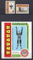 ECUADOR 1989 - Yvert #1172/73+H83 - MNH ** - Ecuador