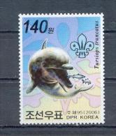 COREE DU NORD   NORTH KOREA   2006   Yvert 3562   MNH   DOLPHIN   DAUPHIN   DELPHIN - Dolphins