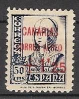 Patrióticos Canarias 29 *  Habilitado Rojo + 1.25. - Emisiones Nacionalistas