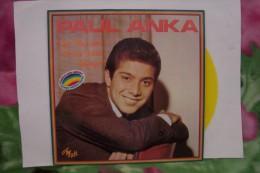 DISQUE  VINYLE 33 T ( COULEUR JAUNE ) PAUL  ANKA - Limited Editions