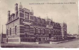D7 - BELGIQUE - ST GHISLAIN - école Provinciale Des Arts Et Métiers - Gandibleu à St Ghislain - Saint-Ghislain