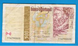 PORTUGAL -  500 Escudos 1997  Circulado  P-187 - Portugal