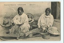 TANANARIVE - Beau Plan De CHAPELIERES Malgaches Au Travail - Edition G.L.  - 2 Scans - Madagascar