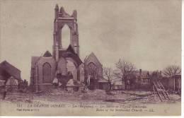 D7 - BELGIQUE - LOO - Les Restes De L´église Bombardée - Nr 711 LL - Lo-Reninge