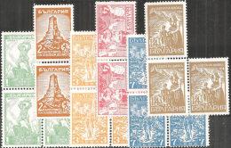 Bulgaria 1935 Nuovo** - Mi.266/71  Yv.244/9  X3 - 1909-45 Regno