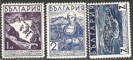 Bulgaria 1936 Nuovo** - Mi.304/6  Yv.287/9 - 1909-45 Regno