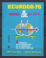 ECUADOR 1976 - Yvert #H30 - MNH ** - Ecuador