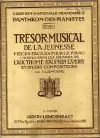 - PARTITION DE MUSIQUE . PANTHEON DES PIANISTES N°1203  3° CAHIER 1924 . - Keyboard Instruments