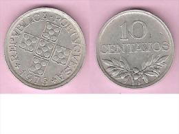 Portugal 10 Centavos  1976  Km 594  Unc !!! - Portugal
