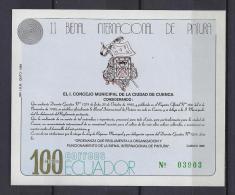 ECUADOR 1989 - Yvert #H86 - MNH ** - Ecuador
