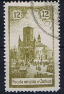 Poland Local Issues 1918 Zarki, Mi 3 Cancelled, 2x Signed MKSTN With Sheetmargin
