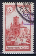 Poland Local Issues 1918 Zarki, Mi 5A Used