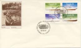 FDC Canada 1989 - Omslagen Van De Eerste Dagen (FDC)