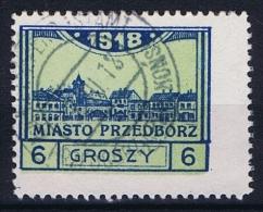 Poland Local Issues 1917 Przedbórz, Mi 5 Type 1, Used ,signed, Perfo 11,5 - Gebraucht