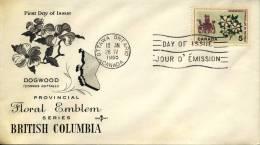 FDC Canada 1965 - Omslagen Van De Eerste Dagen (FDC)