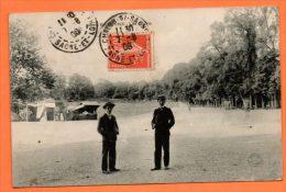 64  BAYONNE    LES GLACIS   (animée)       VOYAGEE  1908   LOT N° 42728 - Bayonne