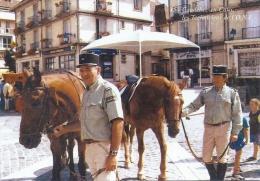 76 CAUDEBEC EN CAUX 1999 PLACE D'ARMES TECHNICIENS ONF GROS PLAN TBE - Caudebec-en-Caux