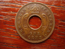 BRITISH EAST AFRICA USED EXCELLENT ONE CENT COIN BRONZE Of 1951 KN. - East Africa & Uganda Protectorates