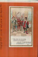 CHROMOS, BOUCHERIE DU BON MARCHE,   Royauté, Louis XII .aux Gentilshommes 1505.OCT 2013 183 - Au Bon Marché
