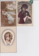 13 / 10 / 19  -   LOT  DE  6 CP  DE JEUNES  FEMMES - Toutes Scanées - 5 - 99 Postcards