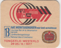 SOUS BOCK 13EME JOURNEE DE LA MECANISATION AGRICOLE 1977 TONGERLO WESTERLO  1977 - Portavasos