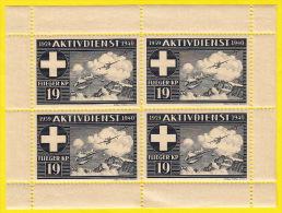 Aviation Militaire, Bloc De Quatre, 1939-40 Fliegerr Kp 19 (compagnie D'aviation 19) - Posta Militare