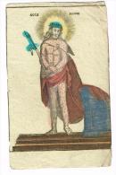 "IMAGE RELIGIEUSE Colorisée, 13 X 8 Cm, ""Ecce Homo"""