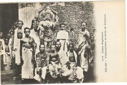 Indes Anglaises _ Delhi Vishnouistes Et Idole De Vishnou  ( Messageries .Maritimes.) - Inde