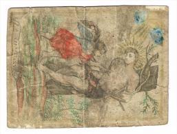 "IMAGE RELIGIEUSE Colorisée, 12 X 9 Cm, ""S. Sebastianus"" - Images Religieuses"