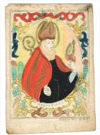 "IMAGE RELIGIEUSE Colorisée, 13,1 X 9 Cm, ""S. SAugustinus"" - Images Religieuses"