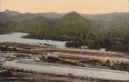 Panama Canal Pedro Miguel Lock Birds Eye View