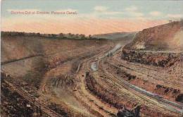 Panama Canal Culebra Cut At Empire