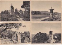 Oratoire Provence Moustiers Revest Auriol St Tropez Trets Puyloubier Peyrolles Cuges 8 Cartes Très Bon état - Provence-Alpes-Côte D'Azur