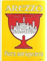 62422)   Arezzo  (Fiera Antiquaria) Con Annullo - 6. 1946-.. Repubblica