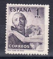 ESPAÑA 1950.EDIFIL 1070. SAN JUAN DE DIOS. SERIE COMPLETA .NUEVO CON CHARNELA.SES169 - 1931-Hoy: 2ª República - ... Juan Carlos I
