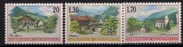 1997 Liechtenstein Yv. 1089-91 Mi. 1148-50 **MNH  Dorfansichten - Neufs