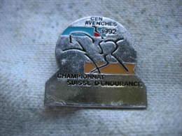 Pin´s Du Championnat Suisse D'Endurance. CEN AVENCHES 1992 - Unclassified