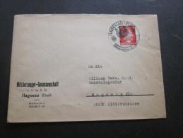 Guerre >14 Avril 1943 Deutsches Reich Haguenau(ELS) Zone Occupée>Allemagne Haguenau(Adolf Hitler Strasse)Generalagentur - Deutschland