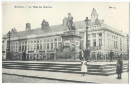 BRUXELLES (Belgique) - La Place Des Martyrs - Animée - N°304 - Marktpleinen, Pleinen