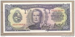 Uruguay - Banconota Non Circolata Da 50 Pesos - Uruguay