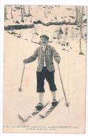 *2480*   COUTERETS : Jean Marie Bordenave, Guide, Champion Du Concours De Skis - Cauterets