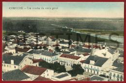 CORUCHE - UM TRECHO DA VISTA GERAL - 1910  PC - Santarem