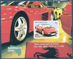 1998 GUINEE    BF 148** Ferrari  Non Dentelé - Guinée (1958-...)