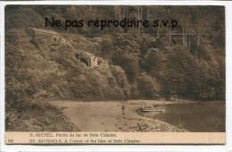 - Açores - S. MICHEL - ST. MICHAELS - Partie Du Lac De Sete Cidades, Splendide, Barque, Plage, Rare, TBE, Scans. - Açores