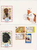 VN - Internationaal Jaar Van Het Kind 1979 - 12 FDC's - UNO