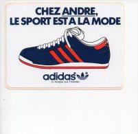REF 5  : Autocollant Sticker 1970/1980 Chez André Le Sport Est à La Mode ADIDAS - Autocollants